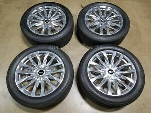 22 2021 Cadillac Escalade Premium Luxury Wheels Tires Factory Rims Oem
