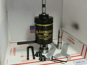 Tapmatic 90x Tapping Attachment 3 4 3 mt Shank 2 Collets wrenches machinist