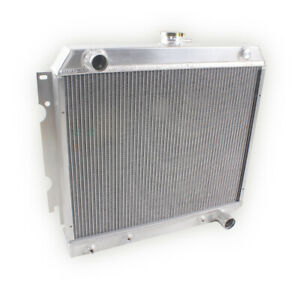3 row Aluminum Radiator For 1968 1972 Dodge Charger Coronet Charger 22 Core