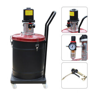 Brand New Grease Pump Air Pneumatic Compressed Gun High Pressure Lubricator Car