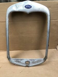 1930 Model A Ford Radiator Shell Grill Grille Original Roadster Coupe 30 Trog 5