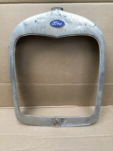 1928 1929 Model A Ford Radiator Shell Grill Grille Original Roadster 28 29 7