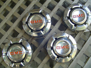 1968 75 Vintage Gmc Chevrolet Pickup Truck Jimmy Hubcaps Wheel Covers 1 2 Ton