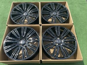 22 Land Rover Range Rover Wheels Tires Autobiography Supercharge Dynamic Black