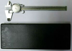 Helios Dial Caliper Stainless Germany 0 001 Vintage Free Shipping