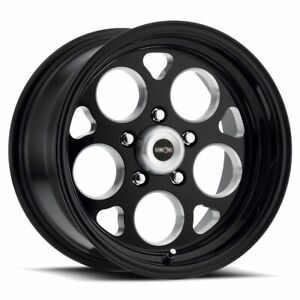 15x10 Black Milled Wheel Vision 561 Sport Mag 5x114 3 0 1