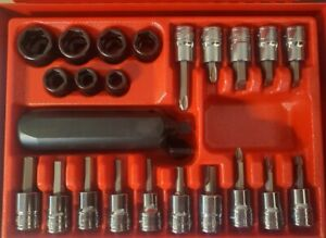 Snap On 36pc 3 8 Drive Impact Driver Set