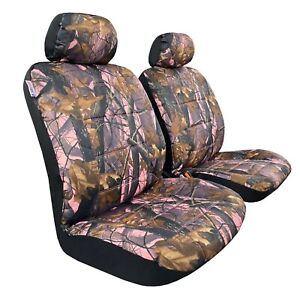 Heavy Duty Front Car Seat Covers Camo Pink For Tacoma 4runner 2000 2021