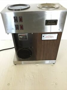 Vintage Bunn Pour omatic Commercial Coffee Maker Pour Over Brewer Warmer Vpr