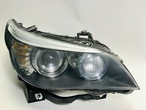 Bmw 5 Series Headlight Hid Xenon Passenger Right 2008 2009 2010 Factory Oem