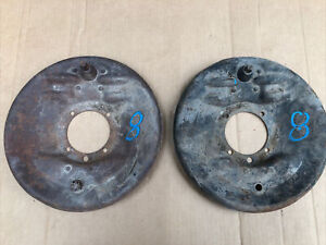 1928 1929 Model A Ford Front Backing Plates Plate Brakes Shoes Steering 29 28 8