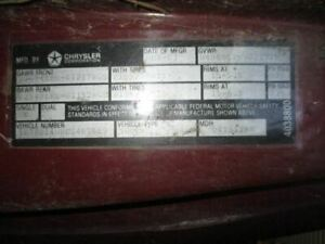 no Shipping Front Bumper Chrome Fits 83 85 Dodge 100 Pickup 391508