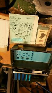 Bausch Lomb Mini 20 Nephelometer Tool Box With Accessories