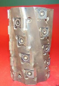 Spiral Jointing Cutter Head insert Shaper approx 3 Dia 4 1 2 1 1 4 Bore