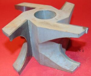 Large Molding Shaper Cutter 1 1 2 Bore Profile Woodworking