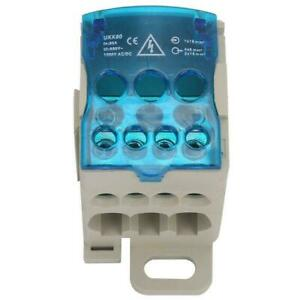Power Junction Box Distribution Terminal Block Connector Din Rail 80a Oh Seller