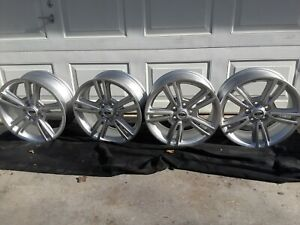 4 Mustang 5 Lug Ford Rims 17 X 7 Inch