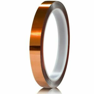 Cchuixi High Temperature Kapton Tape polyimide Film 1 2 12mm 36yds 1 Roll