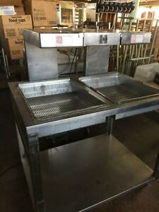Cooked Fry Warmer Dump Station Marshall 44 W