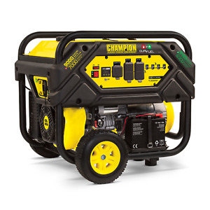 7000 9000w Champion Generator Electric Start Runs On Gas Or Propane