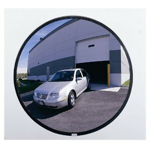 Outdoor Acrylic Convex Security Mirror Traffic Safety 12
