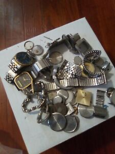 Assorted Watches And Case Parts