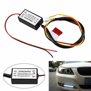 Car Led Daytime Running Light Automatic On Off Controller Module Drl Relay Tdo