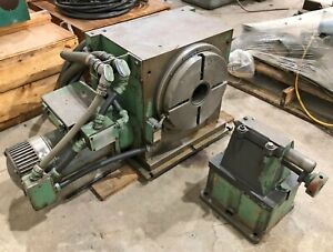Monarch Cortland 360k 12 4th Axis 12 Diameter Nc Rotary Table W Tailstock