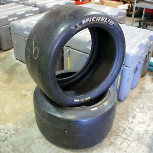 Michelin Radial Slick Road Race Competition 30 65 18 S9h Tire Pair 2x