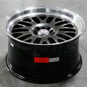 16x8 Chromium Black Ml Wheel Xxr 531 4x100 4x114 3 0 1