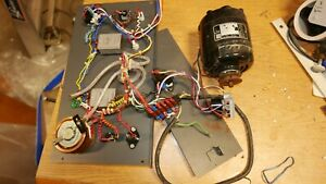 Bodine Nsh 34 Motor Switches Speed Controller Wiring Etc From G75 Shaker