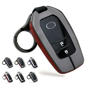 Car Remote Key Fob Case Cover Key Chain Fit For Toyota Corolla Rav4 Camry
