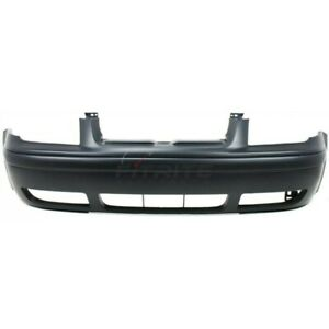 New Front Bumper Cover Primed Fits Volkswagen Jetta 1999 2005 Vw1000179