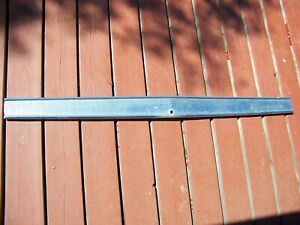 1967 Plymouth Barracuda Trunklid Finish Panel Oem