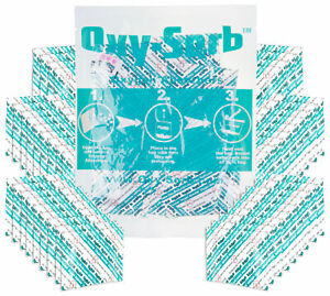 300cc Oxy sorb 60 Pack Oxygen Absorber Survival Food Rations Emergency Storage
