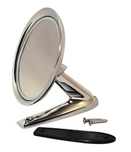 1965 1966 Mustang Standard Outside Rearview Mirror Chrome