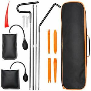 Car Tool Kit 13pcs Professional With Easy Entry Long Reach Grabber Air Wedge
