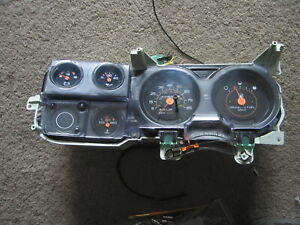 81 87 Chevy Gmc Truck 81 90 Suburban Blazer Jimmy Gauge Cluster With Trip Reset