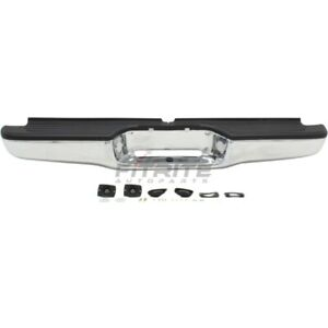 New Rear Step Bumper Assembly Steel Chrome Fits Toyota Tacoma 95 04 To1102215