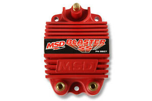 Msd Ignition Coil Blaster Ss For 6 Series Igntions Performance Red 8207 New
