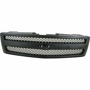 New For Chevrolet Silverado 1500 Fits 2007 13 Textured Grille Gm1200578 22829433