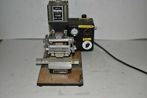 Kingsley Atd 106 Hot Foil Stamping Machine Pneumatic With Accessories et1