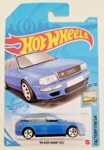 Hot Wheels 94 Audi Avant Rs2 Blue 157 157 250 2021 Factory Fresh 10 10