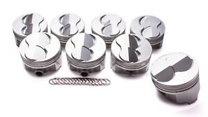 Icon Pistons Sbc Forged Domed Piston Set 4 040 Bore 6 26cc Ic793 040