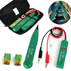 Telephone Phone Computer Rj11 Cable Wire Tester Generator Probe Tracer Tracker