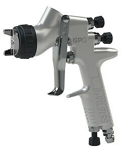 Devilbiss 905022 Gpg Gravity 1 2 1 3 He Spray Gun Kit With 900ml Cup