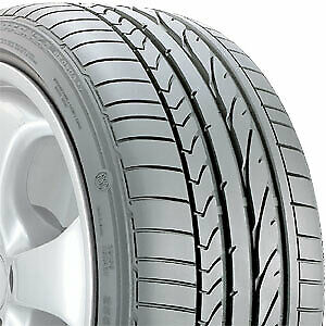 1 Aged 255 40 17 Bridgestone Potenza Re050a Run Flat 94w Tire 25068
