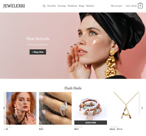 Jewelry Turnkey Dropshipping Multi Vendor Affiliate Website Free Installation