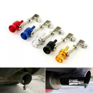 1 blow Off Valve Noise Turbo Sound Whistle Car Accessories Simulator Muffler Tip