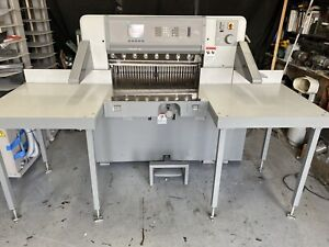 Polar Model 78 Ed 30 7 Programmable Paper Cutter With Air Table Challenge